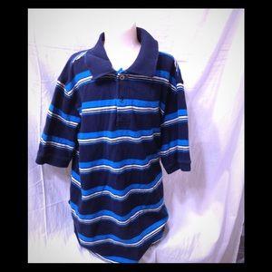 Boy's size 10-12 striped polo shirt